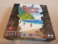 ROBINSON CRUSOE BOARDGAME WITH EXTRAS