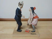 """ First Dance"" The 12 Norman Rockwell Porcelain Figurines  Sep 1980"