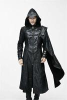 Devil Fashion Steampunk Men Coat Jacket Cloak Gothic Cosplay Motorcycle Military