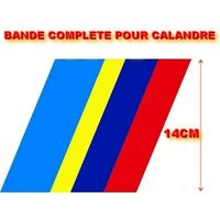 BANDE PTS COMPLETE POUR CALANDRE PEUGEOT 205 SPORT GTI STICKER HAUT 14CM