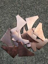 Copper Sheet Cut Offs Metal For Crafts Jewelry Stamping