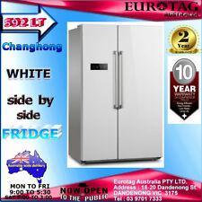 Changhong 592L White Side by Side Frost Free Fridge Brand N. 2 Yr Manufacturer w