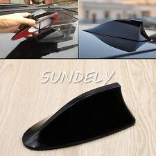 Universal Black Car Shark Fin Aerial Antenna Roof AM/FM Radio Signal For Audi A4