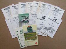 16 x Bangor sur Dee racecards datant de 1971 To 1997