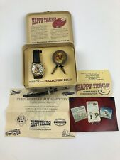 """FOSSIL ROY ROGERS """"HAPPY TRAILS"""" WATCH LIMITED 2090/15000 W/ Tin And Paper Work"""