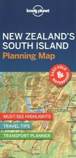 Lonely Planet New Zealand's South Island Planning Map, Paperback by Lonely Pl...