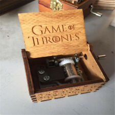 Game Of Thrones Wooden Music Box Theme With Hand Crank Best Present For Holliday