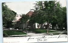 Columbia County Jail House Prison Building Portage Wisconsin WI Postcard B16