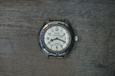 Vostok Amphibian 8 corners Watch   Bezel USSR Antimagnetic 200m Serviced X125