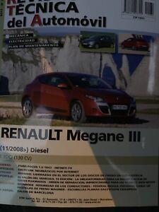 Manual de taller Renault Mégane 3