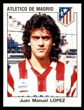 Panini Fútbol 93/94 estrellas Juan Manuel López Atlético de Madrid nº 61