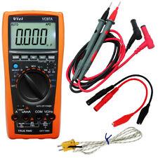 AideTek VC97A auto multimeter AC DC voltage current T-RMS back light USA
