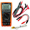 AideTek VC97A auto multimeter AC DC voltage current T-RMS back light USA