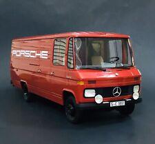 1972 Mercedes Benz L408 Porsche Red 1/18 Premium Classixxs