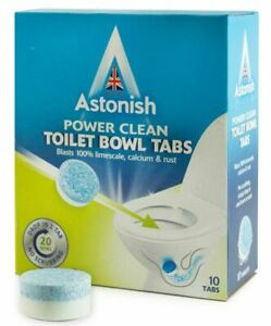 Astonish Toilet  Tablet Cleaner Stain Remover limescale Bowl Cleaner