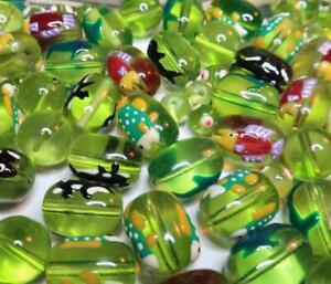 Bulk Lot 10 lb Sea Horse Fish Turtle Whale Beads Mix Shape DIY Jewelry Huge
