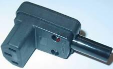 Kaltgeräte Winkelkupplung  Winkelstecker, 250V/10A, Zugentlastung D89