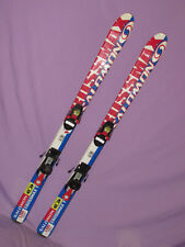 Salomom Crossmax T kid's jr skis 120cm with Salomon c305 kids youth bindings  ~~