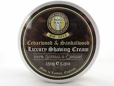 Shaving Cream Cedarwood & Sandalwood 100% Natural & Organic Handmade in London