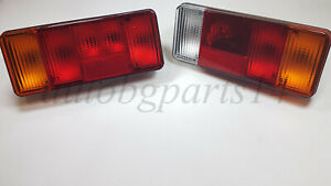 New Set of 2x Rear Tail Lights Lamps for Iveco Fiat Ducato Peugeot Truck Lorry