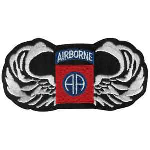 US ARMY 82ND AIRBORNE DIVISION ALL THE WAY WITH WINGS PATCH!