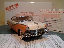 Danbury Mint 1956 Ford Fairlane Victoria.1:24.Rare Le.Nos.Docs.Undisplayed