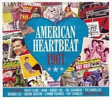 AMERICAN HEARTBEAT 1961  (NEW SEALED 2CD) Elvis Presley-Bobby Vee-Brenda Lee