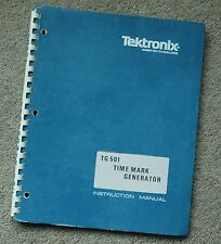 Tektronix TG501 Service Manual all Schematic, Parts: 070-1576-01