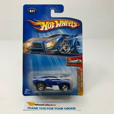 Tooned 1969 Camaro Z28 #71 * BLUE * 2004 Hot Wheels * HD5