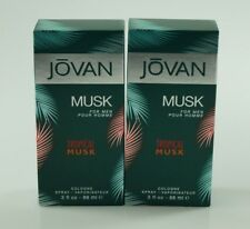 JOVAN - MUSK FOR MEN - TROPICAL MUSK - COLOGNE - 2 x 88ML _ OHNE FOLIE '#80-12-2
