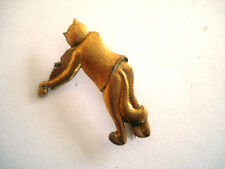 BROCHE VINTAGE CHAT VIOLON wxc bt5