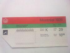 Billet Olympic Games Montréal 29.07.1976 - Canoeing (16:00)