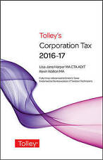 Tolley's Corporation Tax 2016-17 Main Annual-ExLibrary