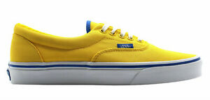 Vans Off The Wall Era MLX Yelloe Lace Up Canvas Trainers W3CEC3 B122C