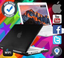 Reconditionné macbook APPLE Puissant 1 To HDD 8 Go RAM 4.5GHZ A1342 Mac Sierra Noir