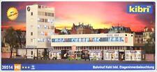 """Kibri 39514 ( 9514 ) H0 - Bahnhof """" Kehl """" mit Etageninnenbeleuchtung NEU & OvP"""