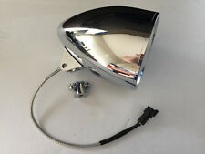 "AMERICAN IRONHORSE  5 3/4"" CHROME HEADLIGHT NEW IN BOX WITH LED BULB NEW"