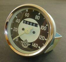 Tacho - HOREX Zifferbatt - Ø 80 mm - 0 bis 140 Km/h - W = 1,0 - Neu !!!