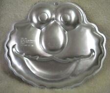 Wilton Cake Pan 2002 Elmo Face Sesame Workshop Cake Pan 2105-3461