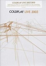 Live 2003 [DVD] by Coldplay (DVD, Jun-2004, EMI) DISC IS MINT