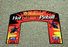 High Speed II GETAWAY Pinball Machine Custom TOPPER Incredible Laser CUT - PETG