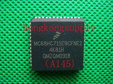 5pc MC68HC711, MC68HC711E9, MC68HC711E9CFN2, 2MHz MCU with OTPROM