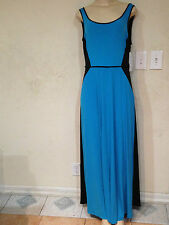 Women's Misses Summer Stretchy Party Church Work evening Maxi Dress size 14 & up