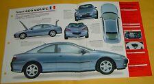 1997 1998 Peugeot 406 Coupe 3.0 V6 194 hp 2946cc BFI IMP info/specs/photo 15x9