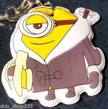 MINIONS ! Banana time chillin Soft Keychain Key chain collectible DESPICABLE ME