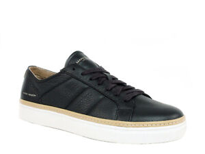 Mark Nason Los Angeles by SKECHERS HOLT Mens Casual Black Leather Shoes Sneakers