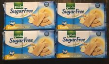 Gullón Sugar Free Vanilla Flavour Wafer 210g x4 Pack low calorie diabetic snacks