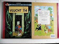 Kuifje in  Vlucht 714  Facsimile Uitgave
