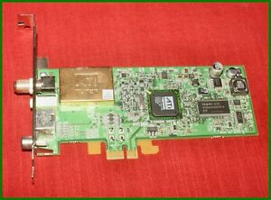 Genuine Dell DH347 ATI TV Tuner PCI Express x1 Full Height Card
