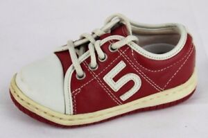 vintage Perfection by Jumping Jacks toddler boys leather lace up shoes size 6M